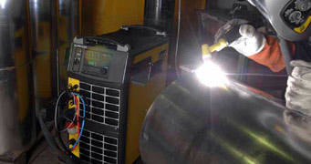 3PH 400V AC/DC Tig welding machine